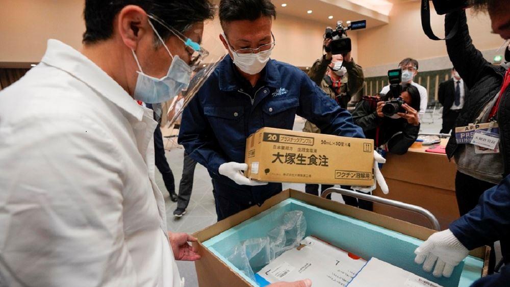 Ιαπωνια κορονοιος εμβολια πανδημια