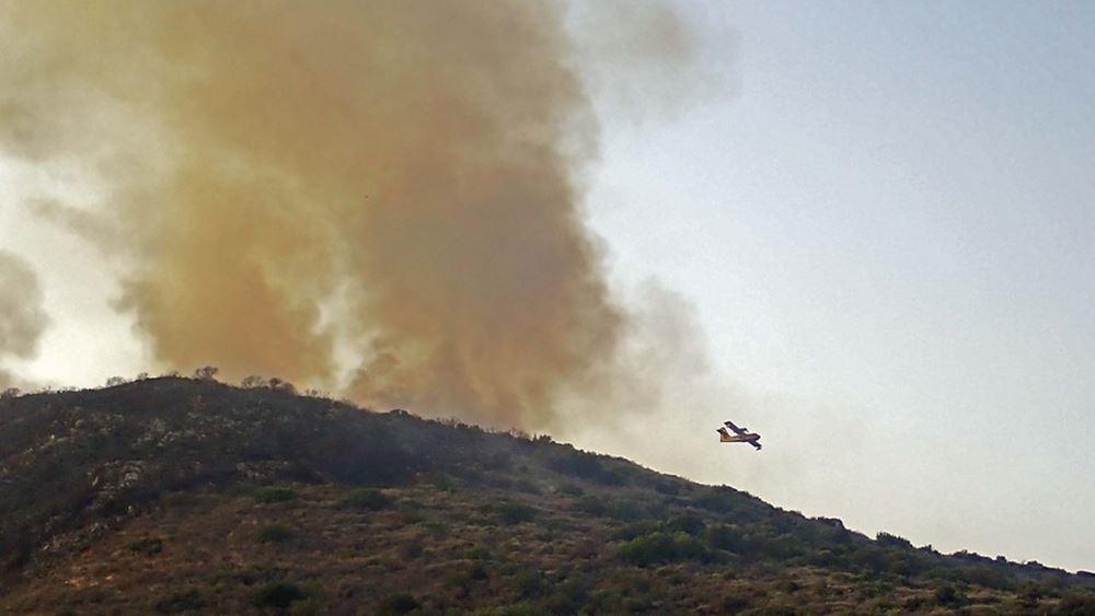 Μεσσηνία: Κάηκαν σπίτια στο Βασιλίτσι