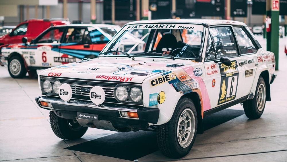 Ματιές στο παρελθόν: Fiat 131 Abarth Diesel