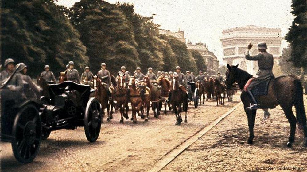 Παρίσι Ιούνιος 1940: Σβάστικες και μαζική φυγή