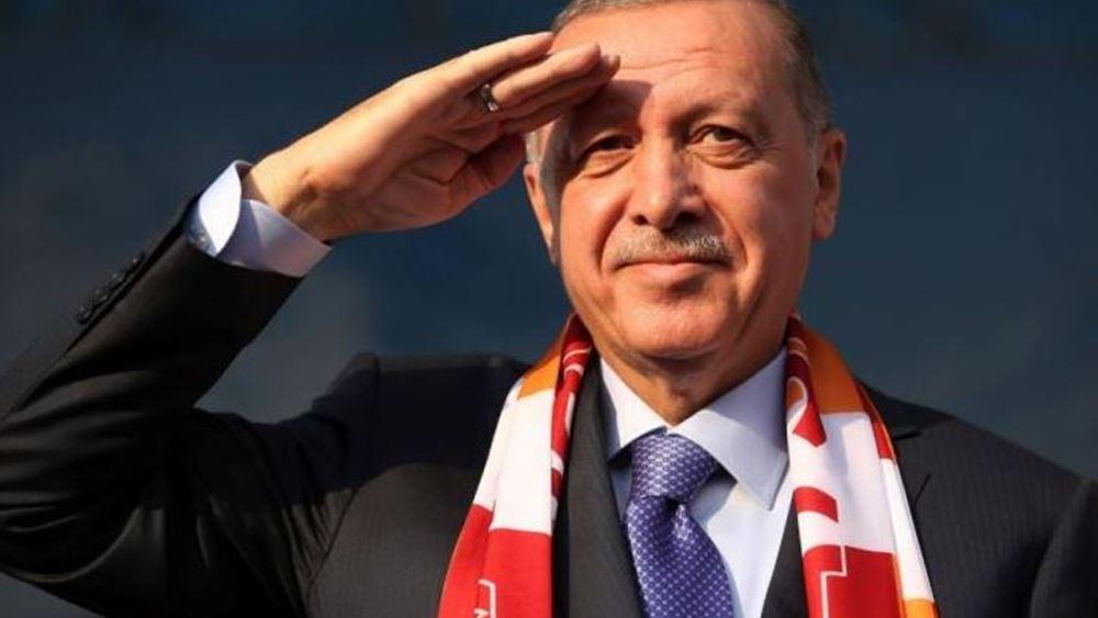 Ερντογάν: Δεν θα διστάσουμε να ασκήσουμε τα κυριαρχικά μας δικαιώματα, όπως με την Αγία Σοφία