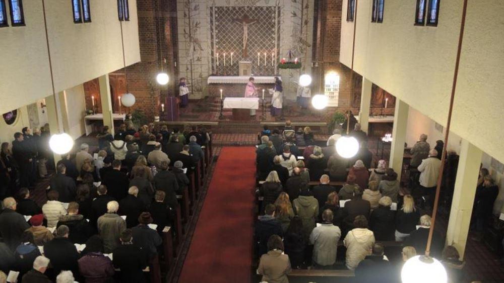 Γερμανία: Περισσότερα από 150 κρούσματα κορονοϊού που συνδέονται με εκκλησίες στην Έσση