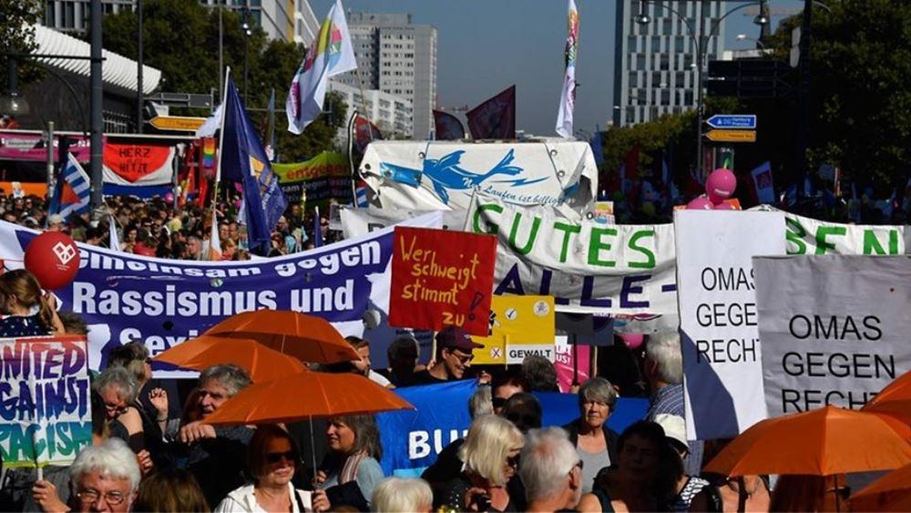 Γερμανία: Περίπου 240 συλλήψεις σε επεισόδια που ξέσπασαν σε συγκεντρώσεις για την Εργατική Πρωτομαγιά στο Βερολίνο