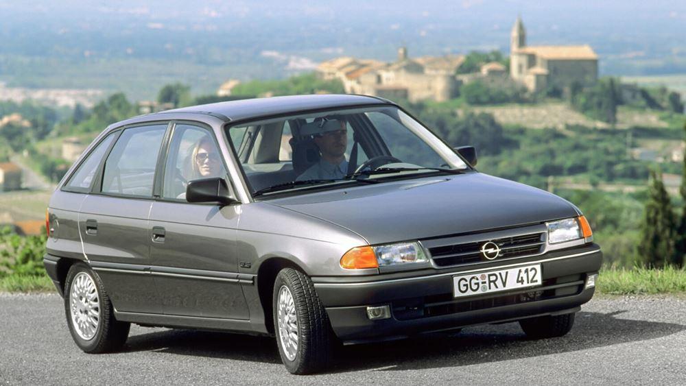 30 χρόνια παρουσίας για το Opel Astra