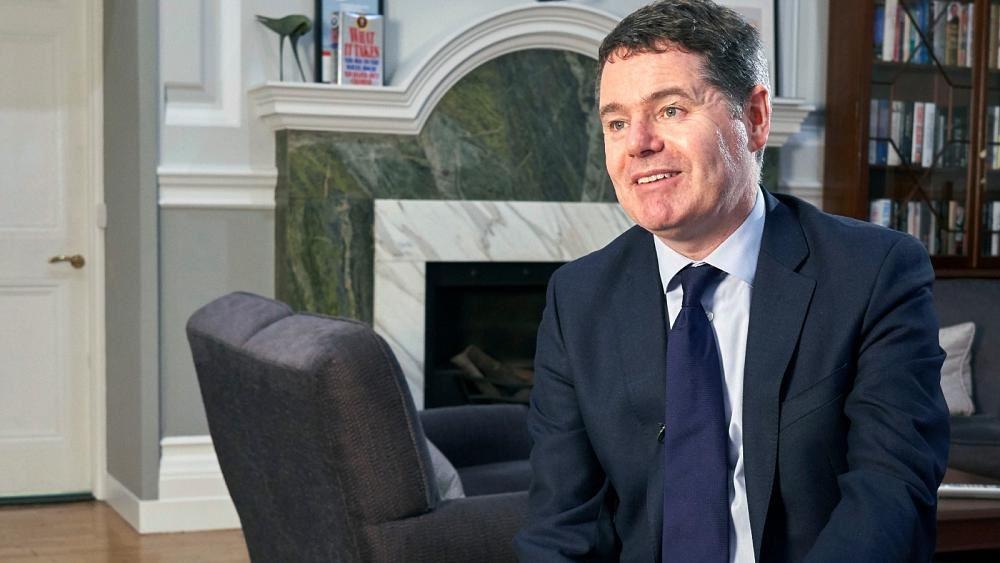 O Ιρλανδός ΥΠΟΙΚ Πασκάλ Ντόναχιου εξελέγη νέος Πρόεδρος του Eurogroup