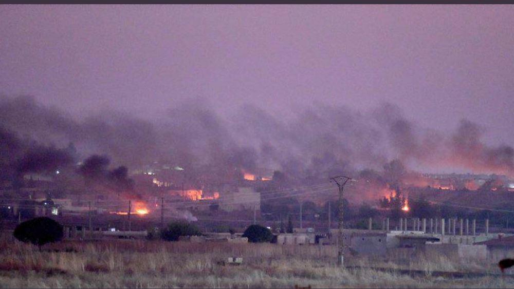 Μπήκε ο στρατός της Τουρκίας στη Συρία: Στους 15 οι νεκροί - Χιλιάδες οι εκτοπισμένοι
