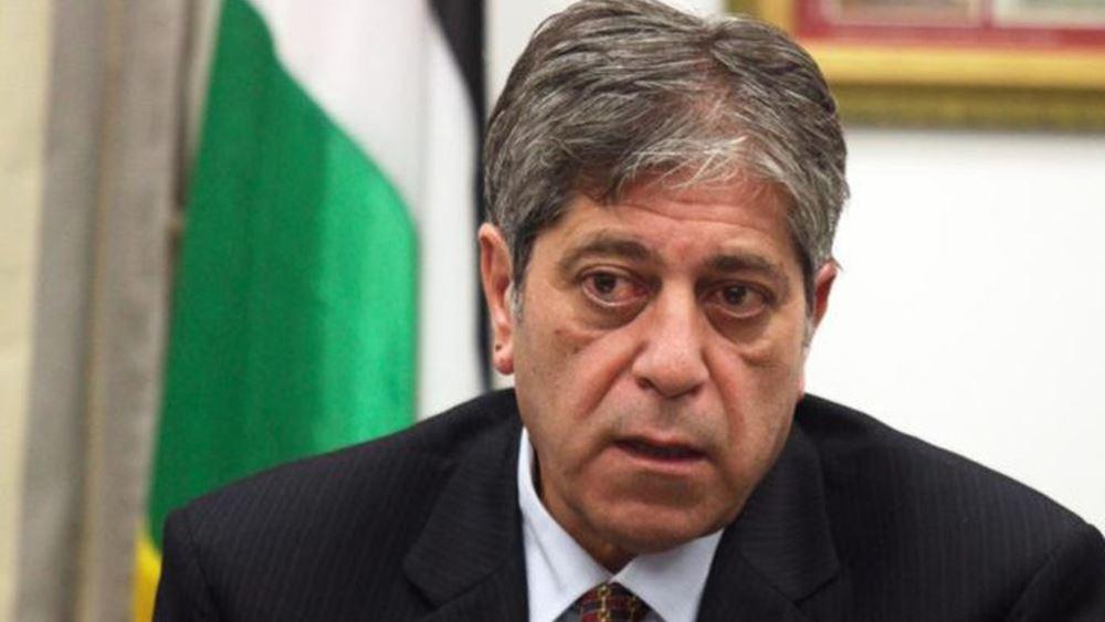 Επίσκεψη του επικεφαλής της διπλωματικής αποστολής της Παλαιστίνης στα γράφεια της ΝΔ