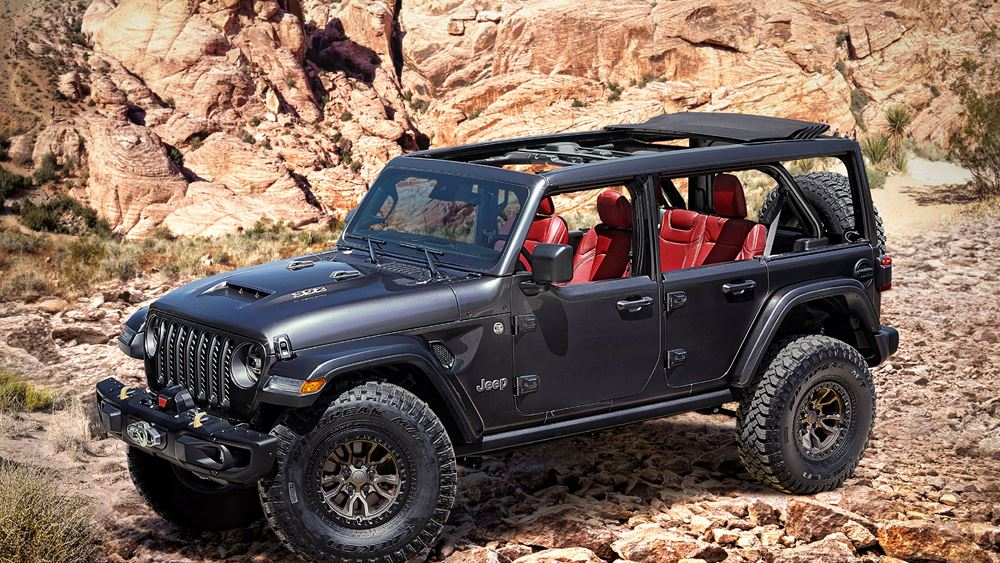 Νέο Jeep Wrangler Rubicon V8 6,4l 392 Concept