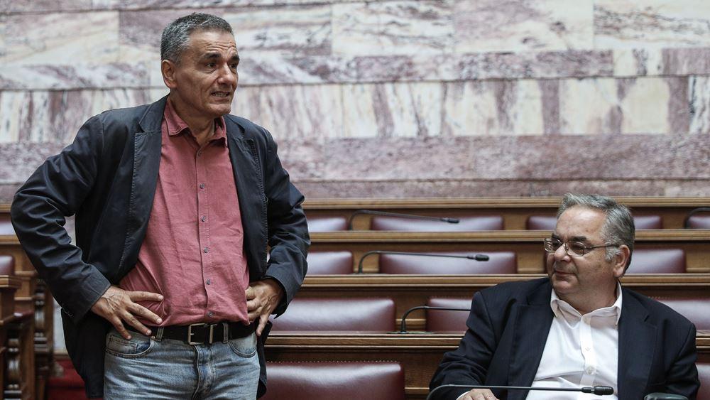 """ΣΥΡΙΖΑ: Παρασκήνιο με την """"ανταρσία"""" Τσακαλώτου στην τροπολογία της Α' Κατοικίας"""
