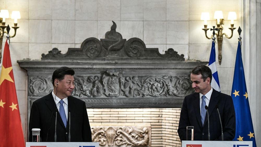 Mitsotakis: We are expanding our relation with China now that Greece is taking on a lead role