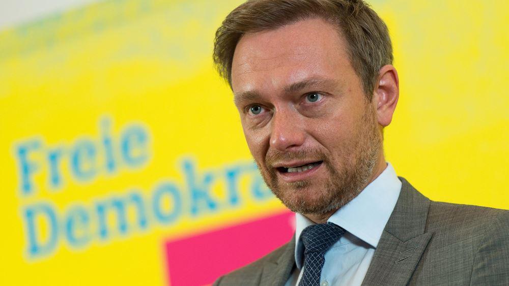 """Γερμανία:""""Είμαστε ένας μικρός νικητής"""", δήλωσε ο αρχηγός του FDP"""