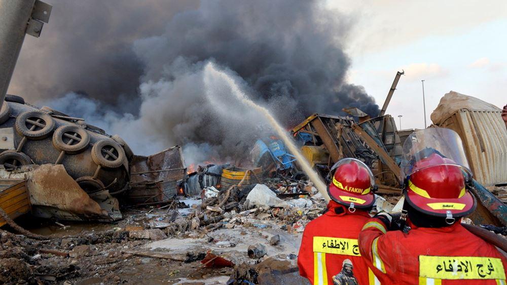 Τρομακτικές εκρήξεις στη Βηρυτό