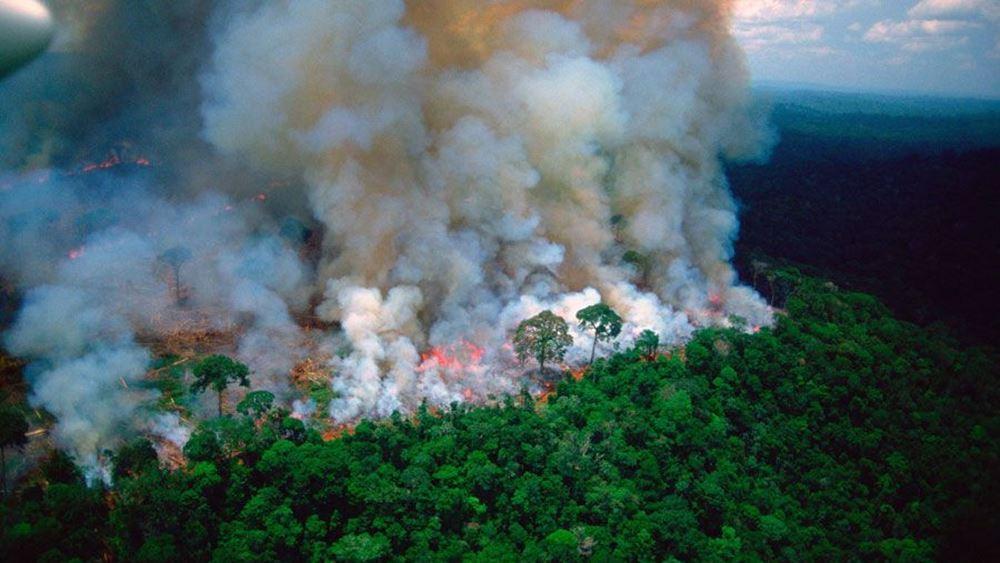 """Αυστρία: Λέει """"όχι"""" σε εμπορική συμφωνία με τη Νότια Αμερική εξαιτίας της φωτιάς στον Αμαζόνιο"""