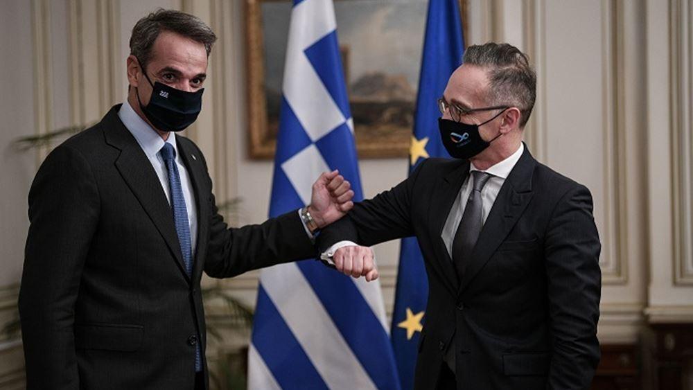 """Πλήρης στήριξη Χάικο Μάας στην Ελλάδα: """"Προκλητική η στάση της Τουρκίας"""""""