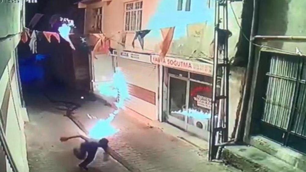 Ανιψιός στελέχους του ΑΚΡ του Ερντογάν έριξε μολότοφ στα γραφεία του κόμματος στο Ντιγιάρμπακιρ