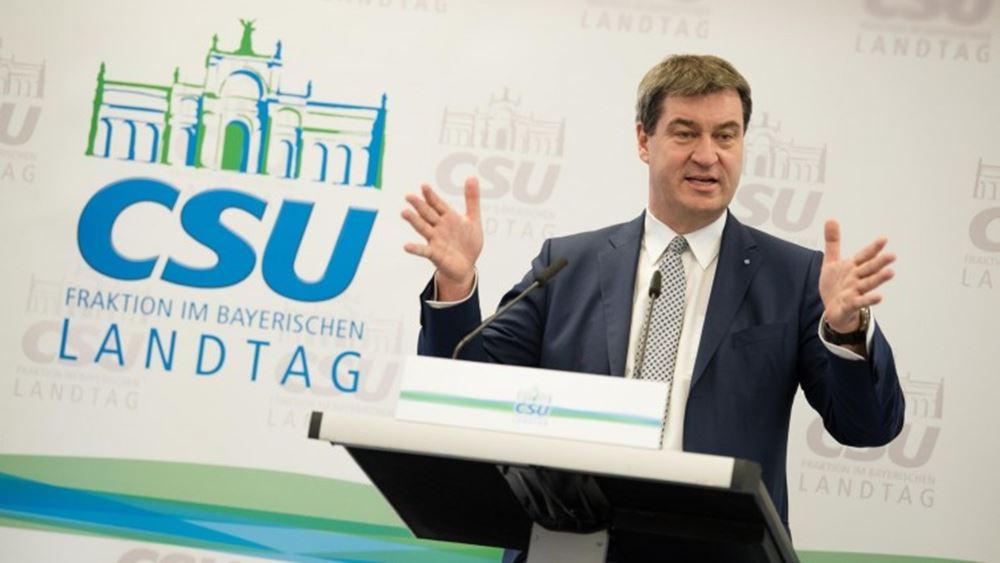 Γερμανία: Στην CDU εκχωρεί την απόφαση για τον κοινό υποψήφιο καγκελάριο ο Ζέντερ της CSU