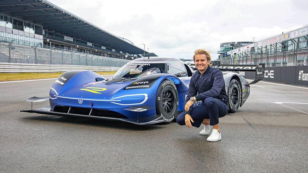 O Nico Rosberg στο τιμόνι του VW ID.R