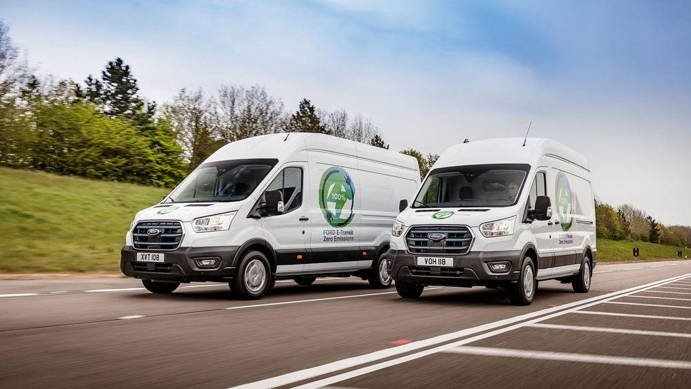 Ξεκινούν οι δοκιμές του ηλεκτρικού Ford E-Transit