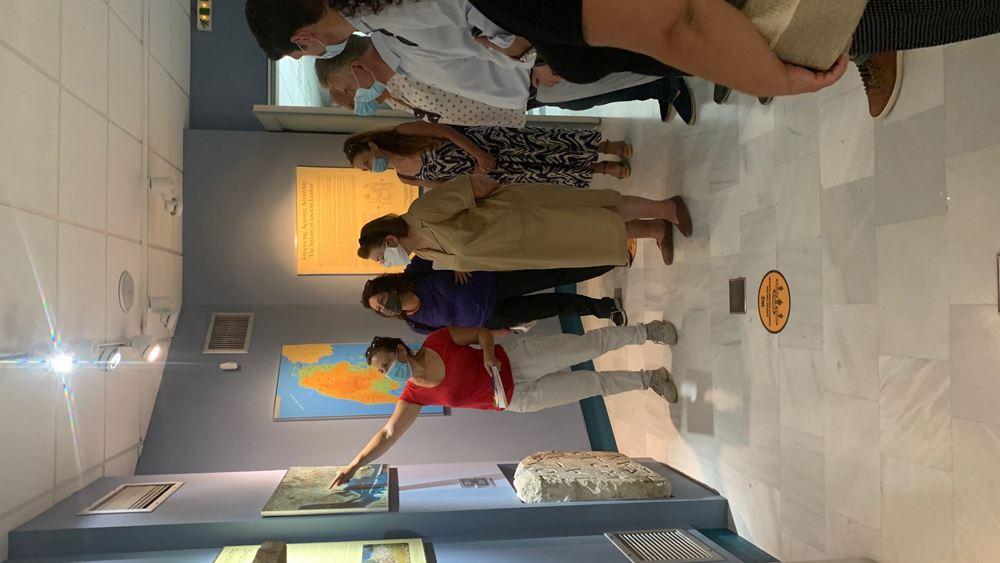 Τριήμερη επίσκεψη στη Λευκάδα από την υπουργό Πολιτισμού Λίνα Μενδώνη