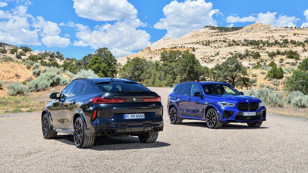 Νέες BMW X5 M και X6 M (vid.)