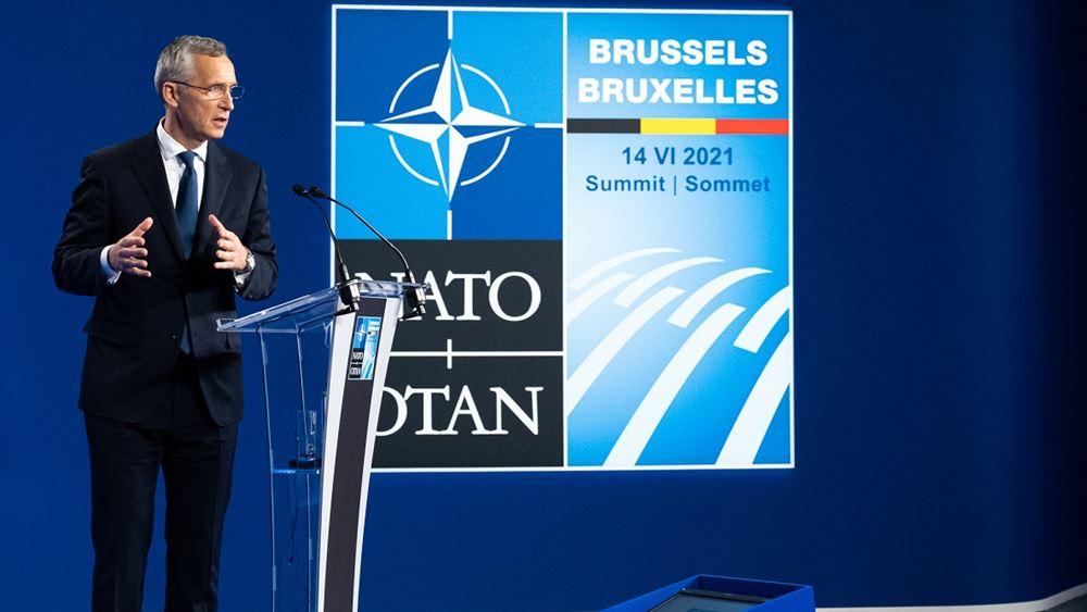 ΝΑΤΟ: Ο Γ.Γ.  Γενς Στόλτενμπεργκ συζήτησε με τον Βρετανό πρωθυπουργό Τζόνσον για το Αφγανιστάν