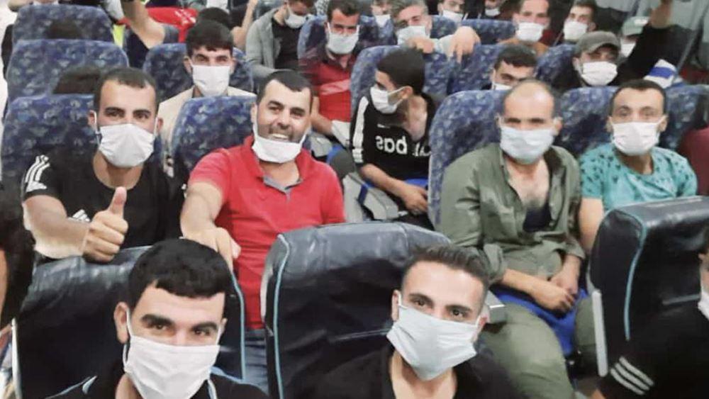 Χιλιάδες μισθοφόροι του Ερντογάν έφτασαν στη Συρία με σκοπό να μεταβούν στο Αζερμπαϊτζάν