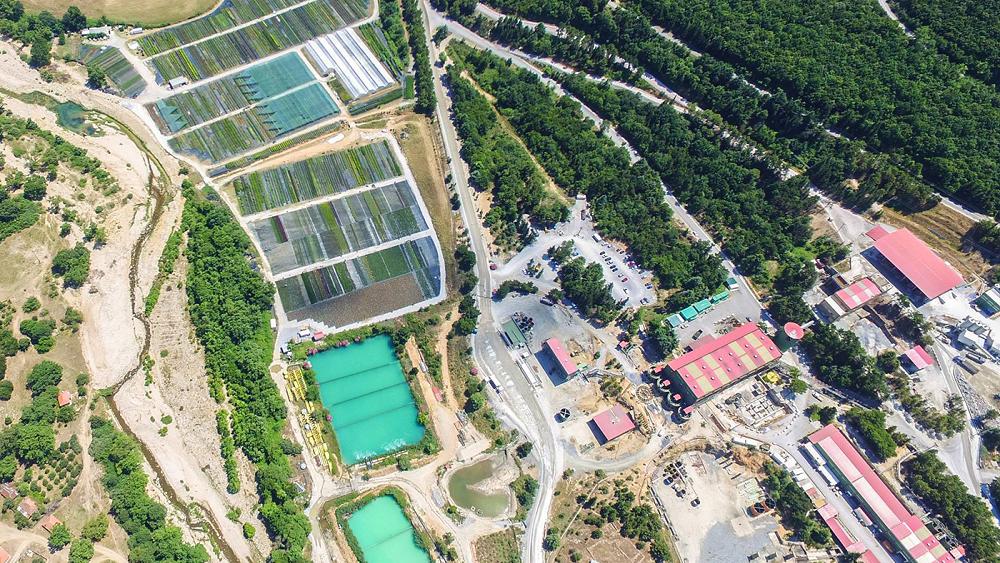 Ελληνικός Χρυσός: Ολοκληρώθηκε η περιβαλλοντική αποκατάσταση παλαιού χώρου απόθεσης αρσενοπυριτών στην Ολυμπιάδα