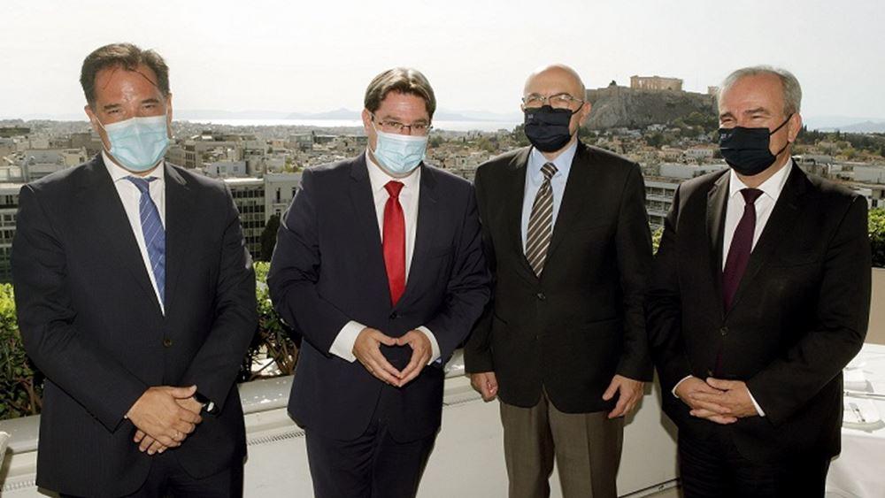Συνάντηση Γεωργιάδη με τον υπουργό Περιφερειακής Συνεργασίας του Ισραήλ