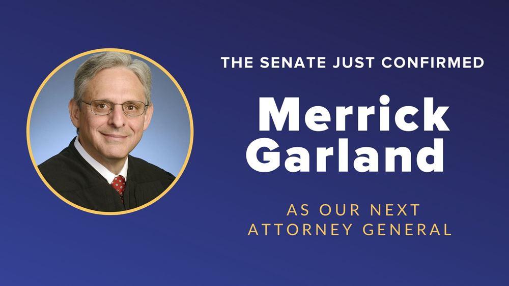 ΗΠΑ: Νέος υπουργός Δικαιοσύνης ο Μέρικ Γκάρλαντ