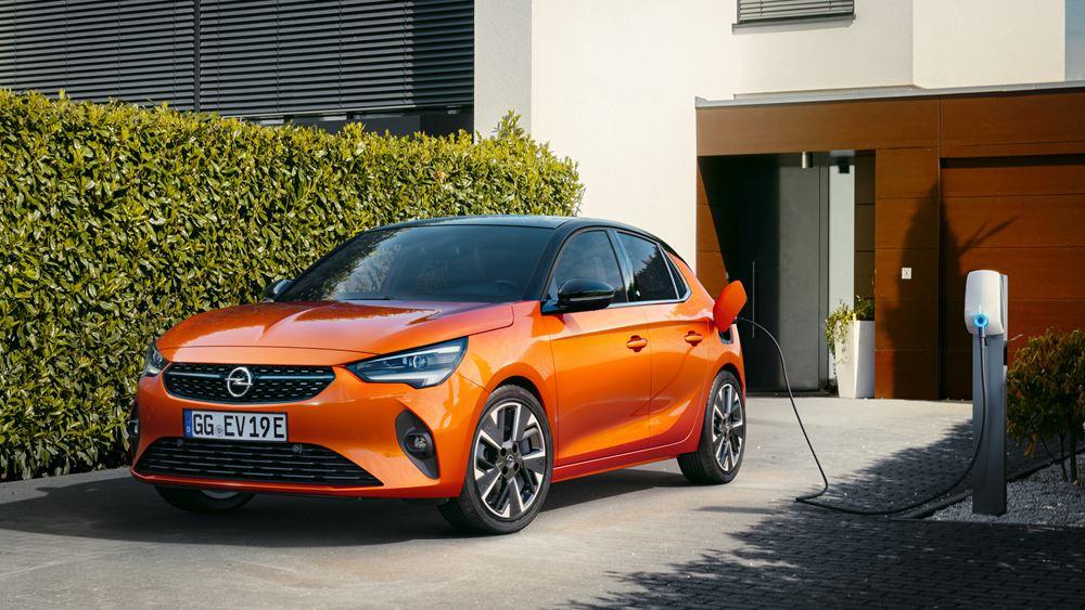 H ηλεκτροκίνητη γκάμα μοντέλων της Opel