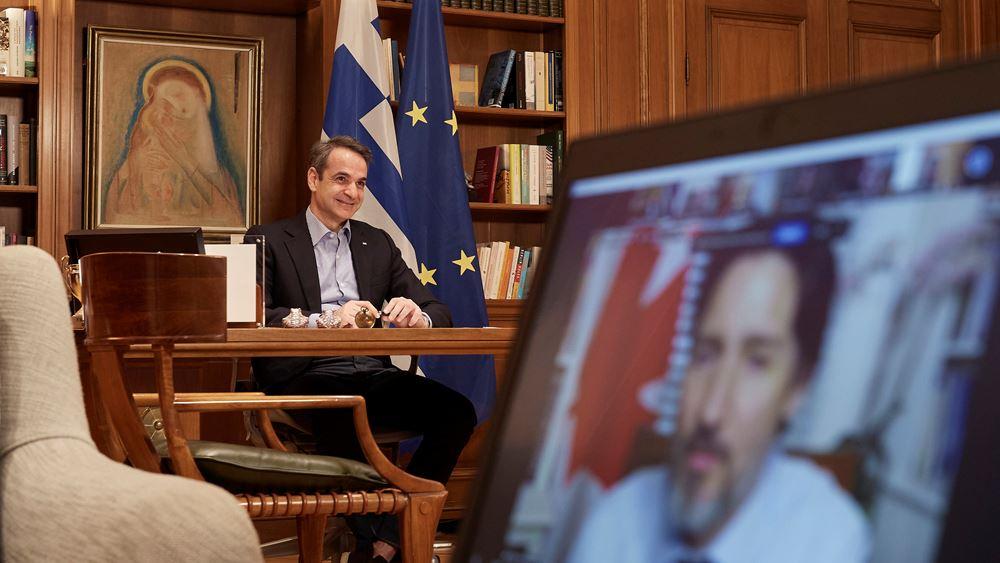 Κ. Μητσοτάκης: Θέλουμε οι Καναδοί να μετέχουν στο success story της Ελλάδας