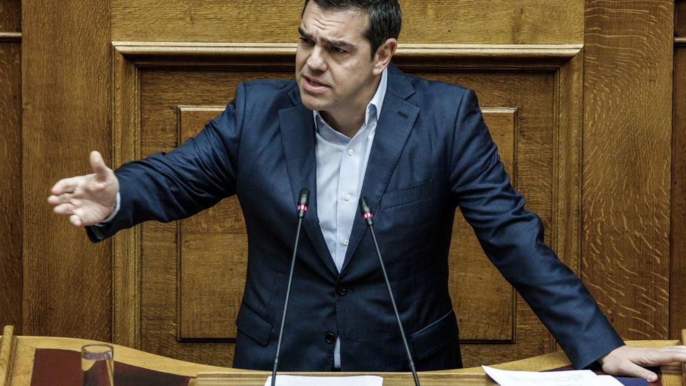 """Τσίπρας: Ο κ. Μητσοτάκης """"αποφεύγει"""" να έρθει στη Βουλή να απαντήσει για τα εργασιακά"""