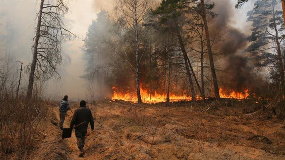 Ελληνική Επιτροπή Ατομικής Ενέργειας: Ακίνδυνη η ποσότητα ραδιενέργειας που ανιχνεύθηκε μετά τη πυρκαγιά στο Τσερνόμπιλ