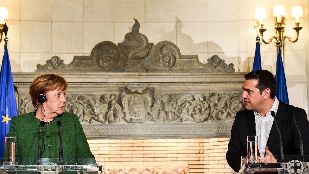 Στήριξη Μέρκελ στη Συμφωνία των Πρεσπών – ψήφος εμπιστοσύνης στην ελληνική οικονομία