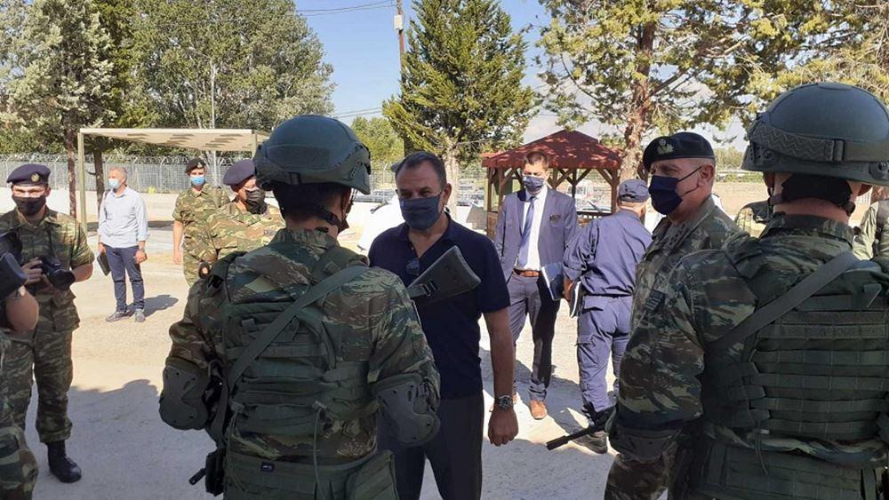 Παναγιωτόπουλος - Χρυσοχοΐδης στον Έβρο: Τα σύνορά μας θα παραμείνουν ασφαλή και απαραβίαστα