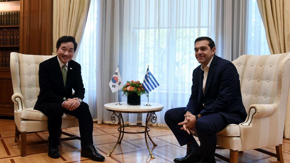Αλ. Τσίπρας: Υπάρχουν μεγάλα περιθώρια για συνεργασία με τη Ν. Κορέα