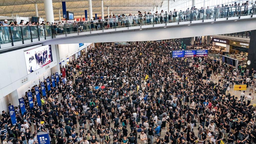 Χονγκ Κονγκ: Διακόπηκε το check-in για όλες τις πτήσεις προς αναχώρηση