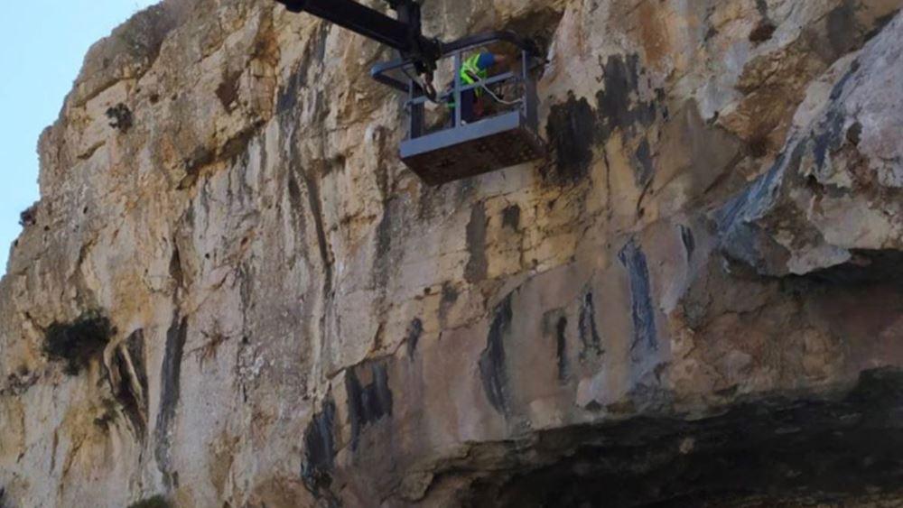 """Με γρήγορους ρυθμούς προχωρούν οι εργασίες αποκατάστασης των βλαβών που εντοπίστηκαν στη σήραγγα """"Λουμπάρδα"""""""