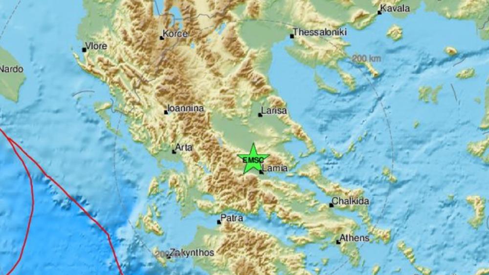 Σεισμός 4,2 Ρίχτερ μεταξύ Λαμίας και Δομοκού