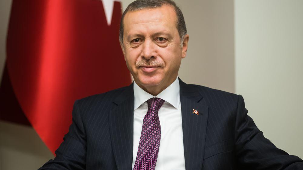 Erdogan: Η Τουρκία εργάζεται επίμονα για την πλήρη ένταξη στην ΕΕ