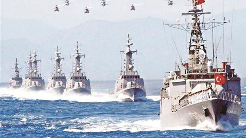 Ασφυκτικός κλοιός της Άγκυρας γύρω από την Κύπρο - τουρκική προέλαση σε θάλασσα και ξηρά
