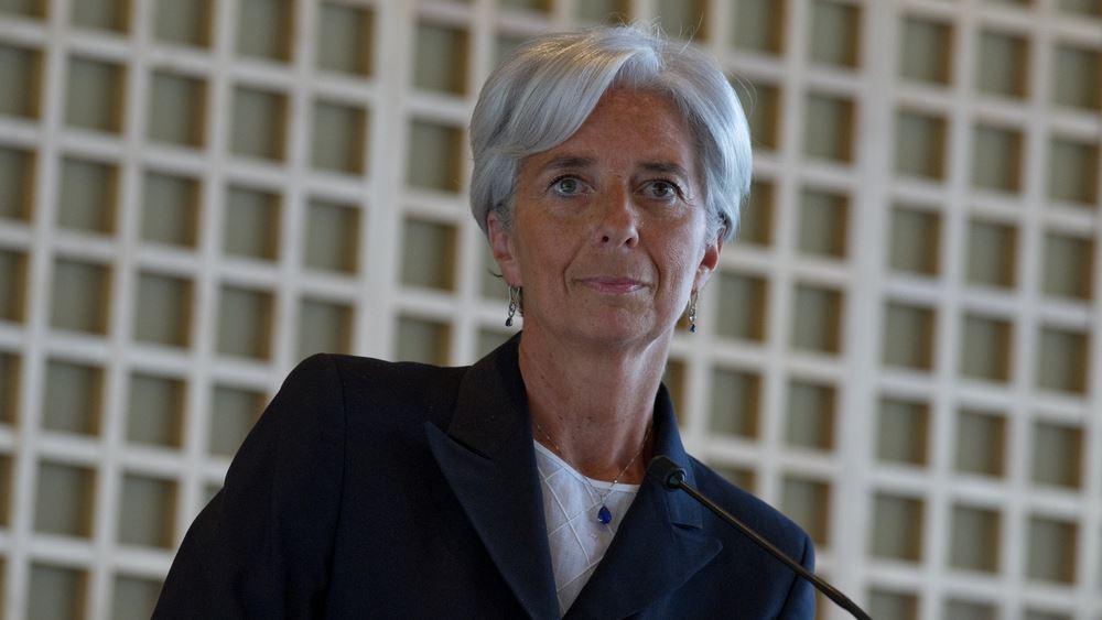"""Lagarde: Ανοικτή σε """"παράταση"""" των αποφάσεων για το ελληνικό χρέος"""