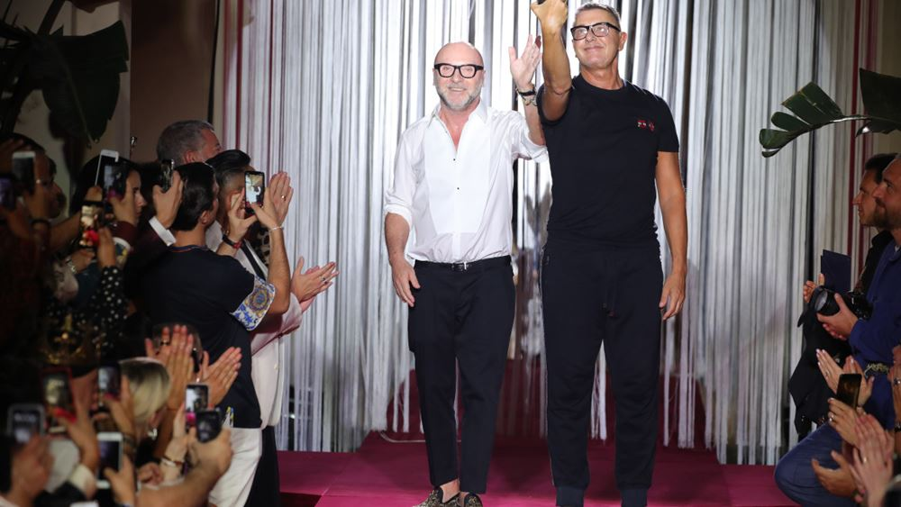"""Ιταλία: """"Ζητούμε συγγνώμη"""", λένε στους Kινέζους οι Dolce e Gabbana"""