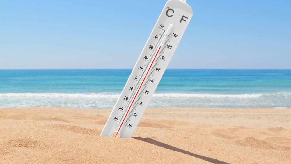 Στους 38 βαθμούς Κελσίου έφθασε η μέγιστη θερμοκρασία την Πέμπτη
