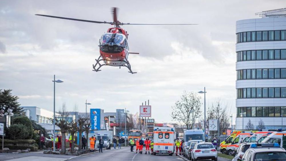 Γερμανία: Έκρηξη βόμβας στην έδρα αλυσίδας σούπερ μάρκετ - Τρεις τραυματίες