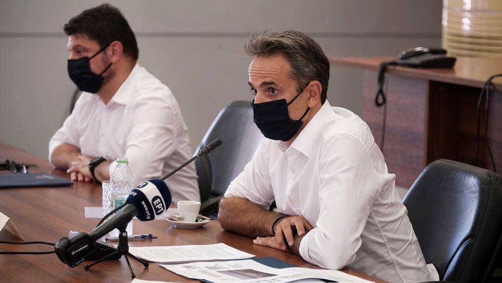 Μητσοτακης από Εύβοια: Η Πολιτεία θα συμπαρασταθεί σε όσους έχασαν τις περιουσίες τους