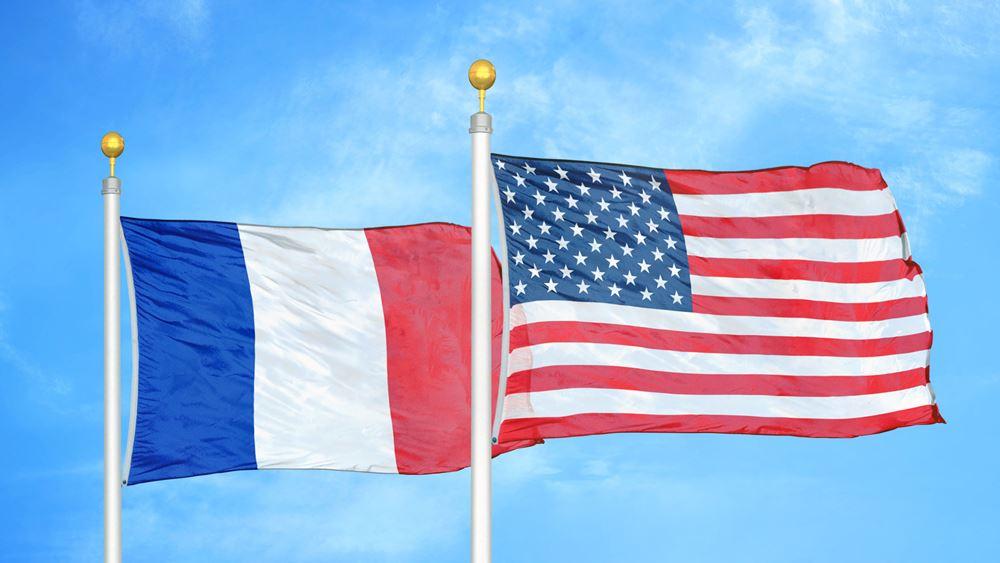 """ΗΠΑ: Ακυρώθηκεδεξίωση στη γαλλική πρεσβεία με αφορμή το σπάσιμο του """"συμβολαίου του αιώνα"""""""