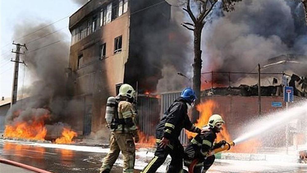 Ιράν: Πυρκαγιά σε βιομηχανική ζώνη κοντά στην Τεχεράνη