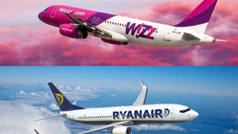 Ryanair, EasyJet και Wizzair ετοιμάζονται για πτήσεις από την Ρωσία προς τις χώρες της Ευρώπης