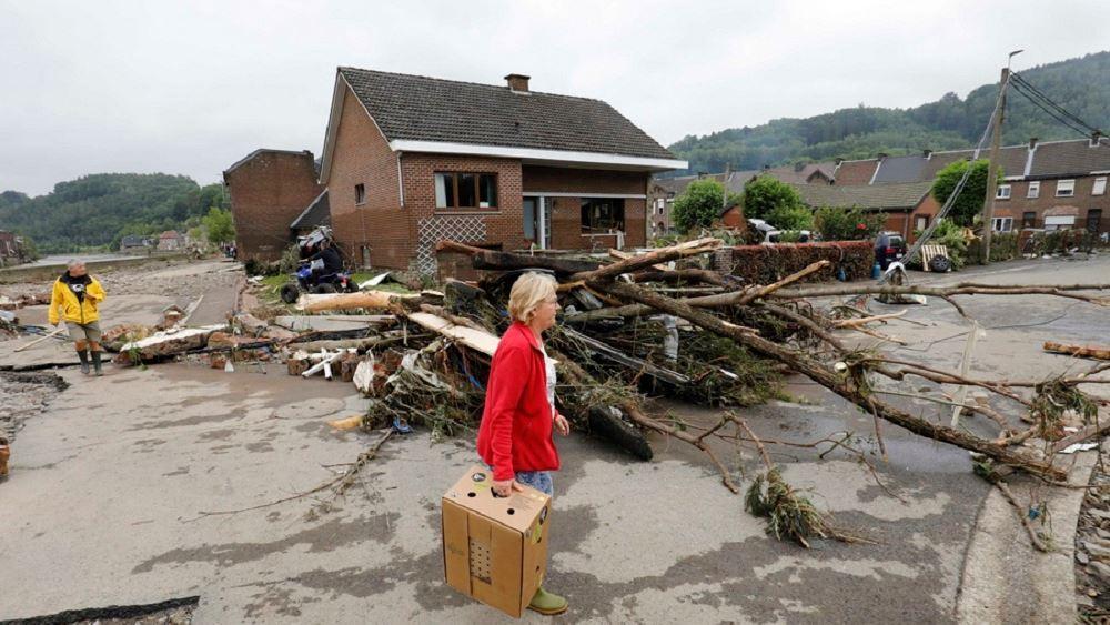 Πρωθυπουργός Βελγίου για πλημμύρες: Η χώρα μας περνάει πολύ δύσκολες στιγμές